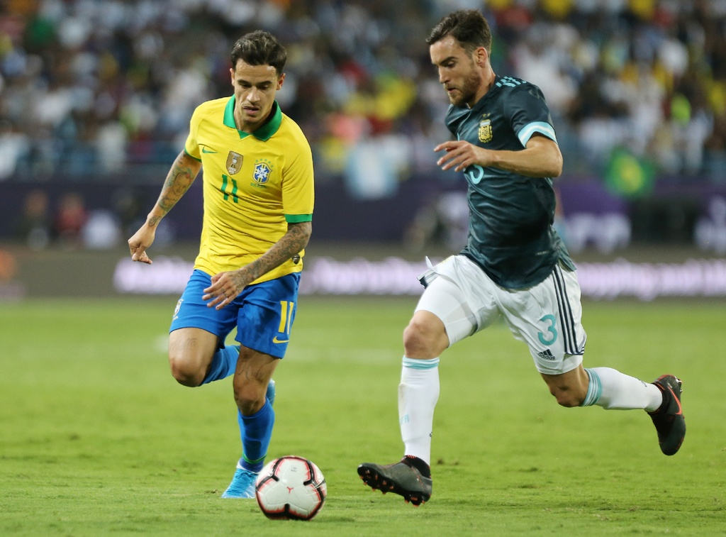 Messi ghi ban sau an treo gio giup Argentina thang Brazil hinh anh 7