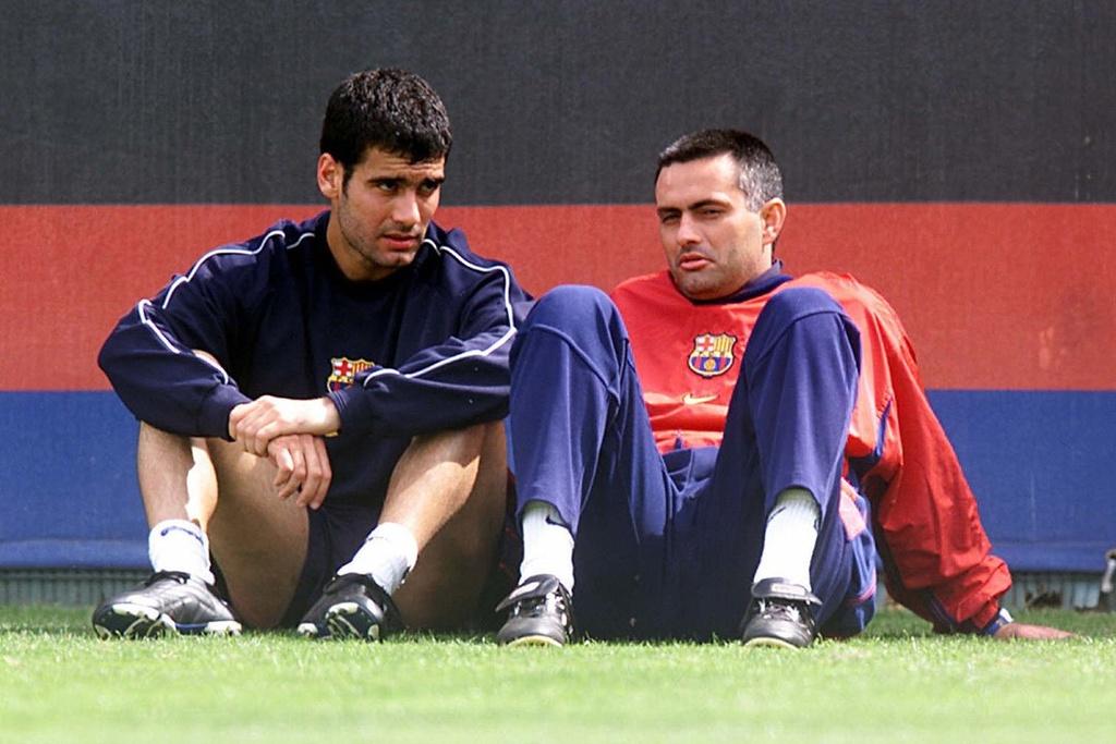 Mourinho va Pep Guardiola anh 3