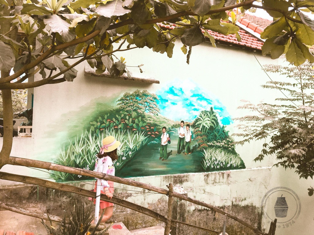 Muon goc song ao tai ngoi lang tranh ve noi tieng o Quang Nam hinh anh 14