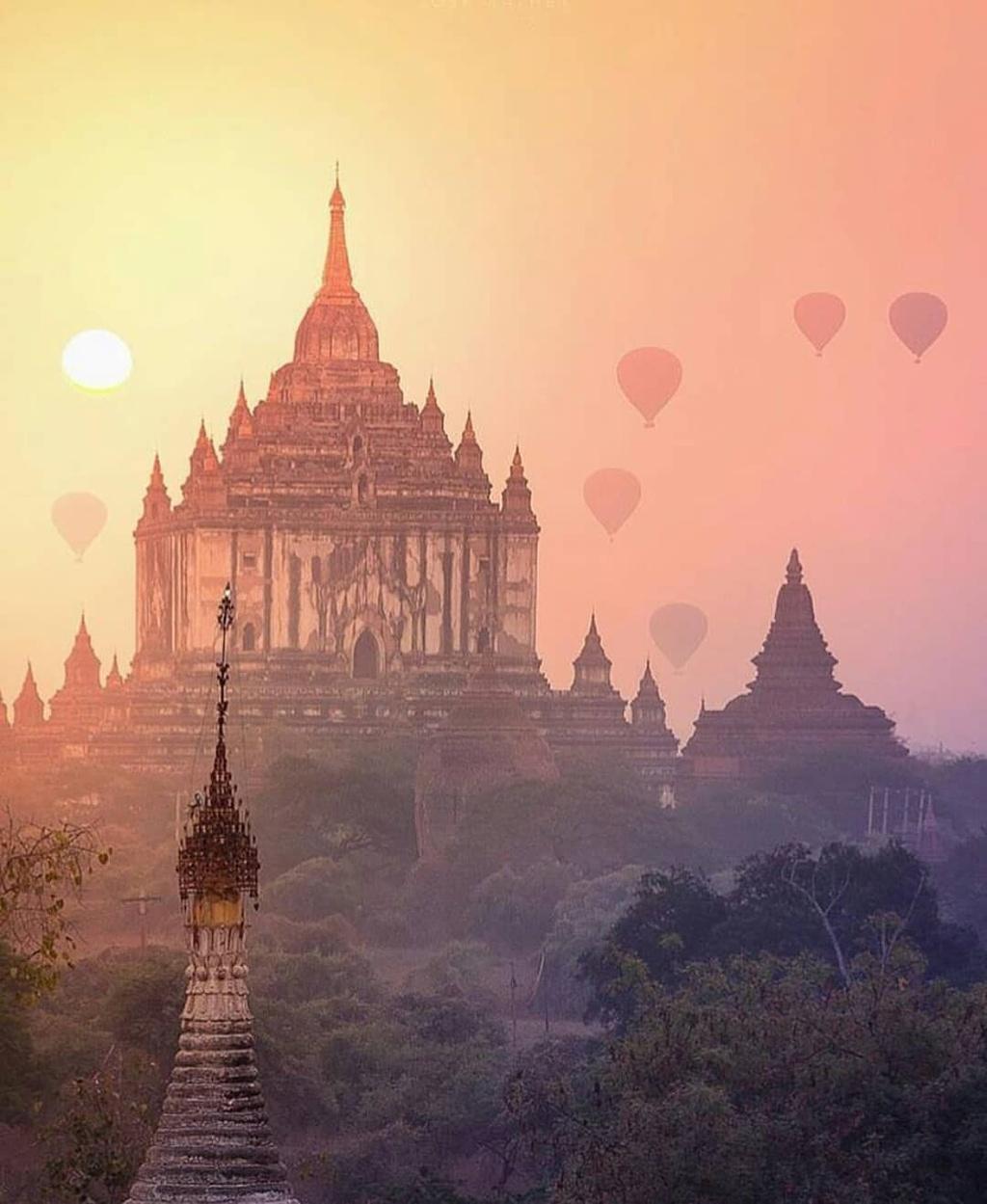 Ngam khinh khi cau tuyet dep o Myanmar hinh anh 1