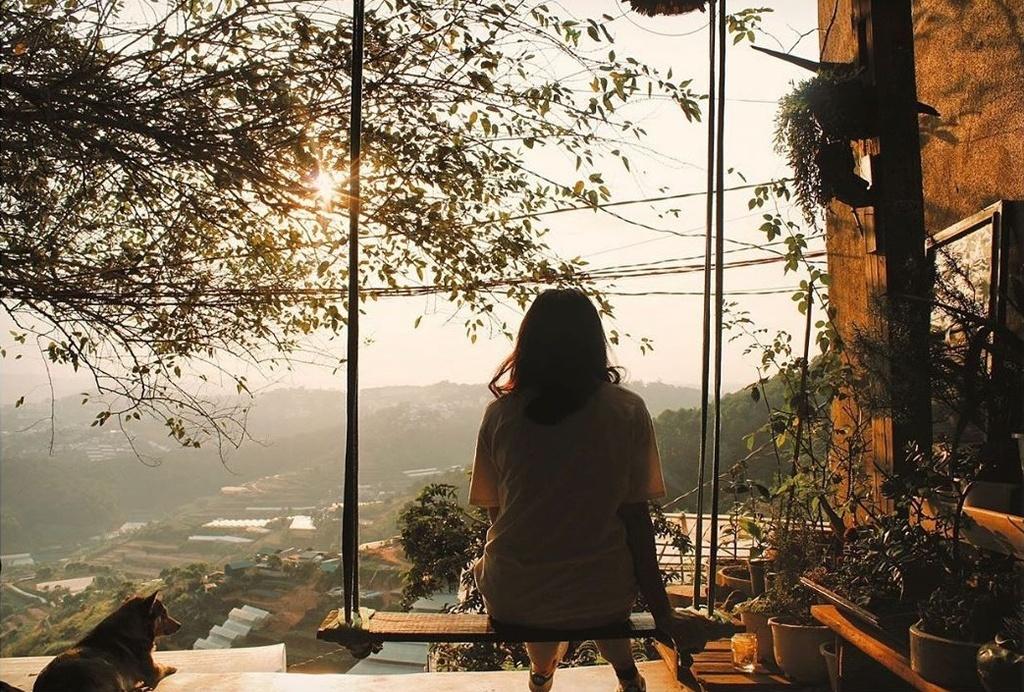 Ngắm hoàng hôn yên bình tại bốn quán cà phê Đà Lạt - ảnh 6