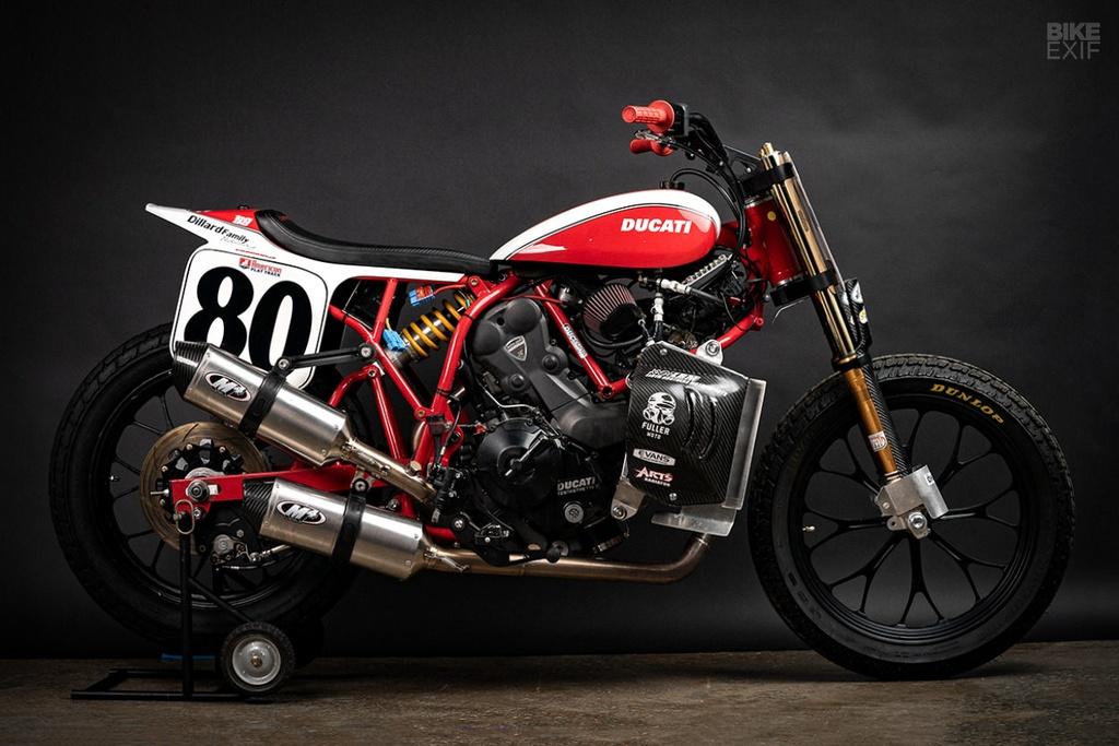 Mau Flat Tracker Ducati dau tien cua Lloyd Brothers hinh anh 1