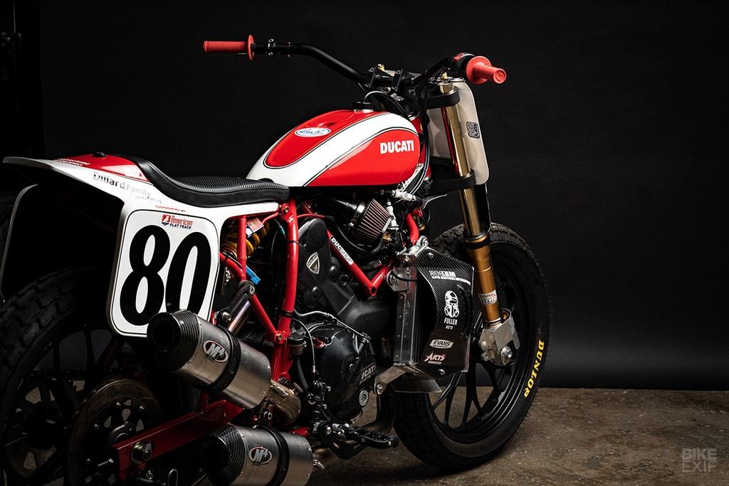 Mau Flat Tracker Ducati dau tien cua Lloyd Brothers hinh anh 12