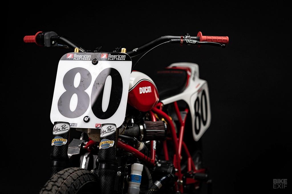 Mau Flat Tracker Ducati dau tien cua Lloyd Brothers hinh anh 2