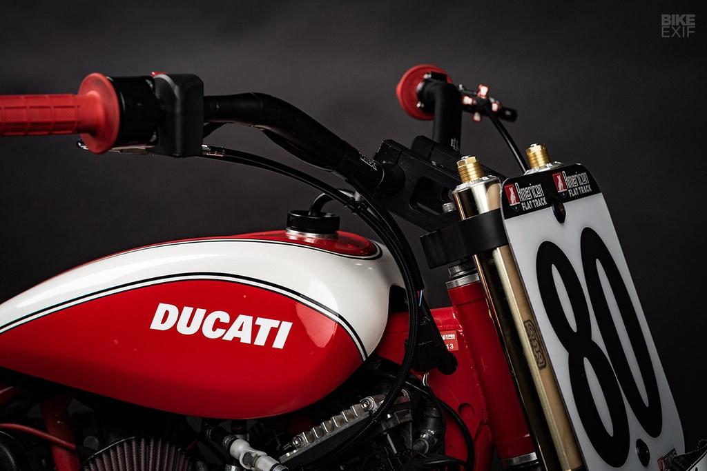 Mau Flat Tracker Ducati dau tien cua Lloyd Brothers hinh anh 3