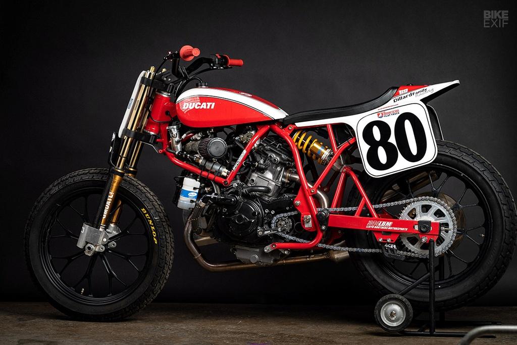 Mau Flat Tracker Ducati dau tien cua Lloyd Brothers hinh anh 4