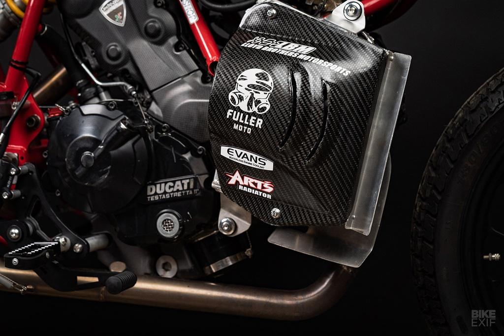 Mau Flat Tracker Ducati dau tien cua Lloyd Brothers hinh anh 6