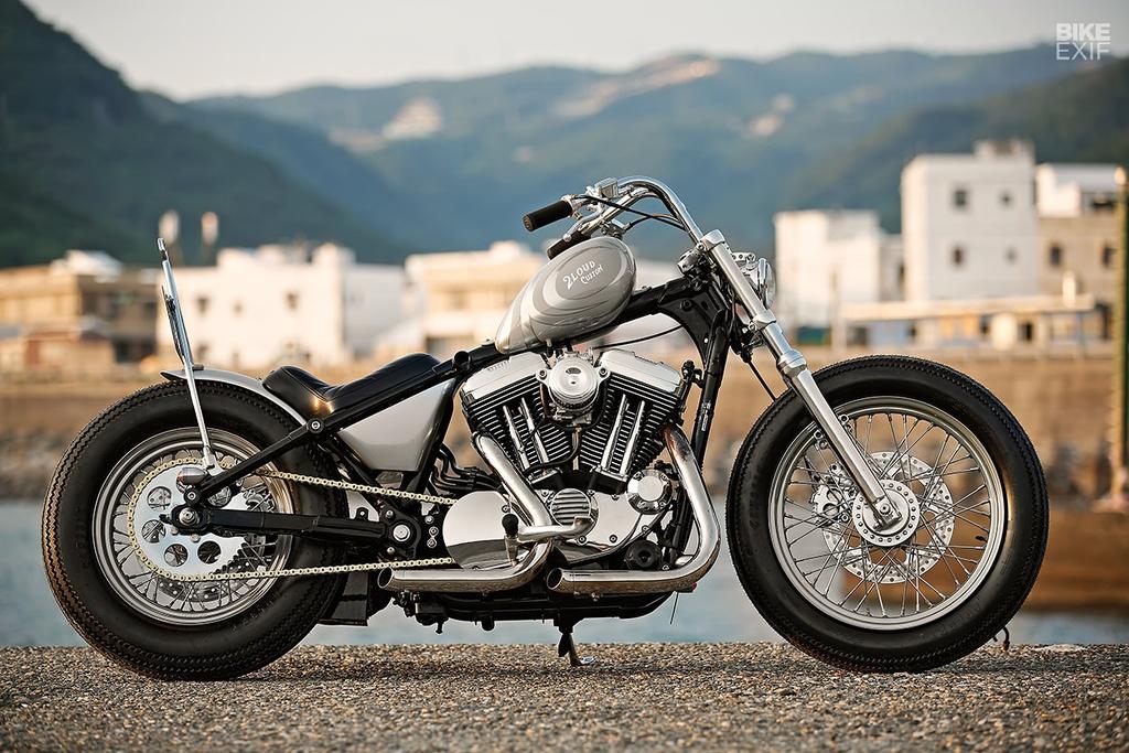 Harley Sportster do phong cach nu tinh dau tien o Dai Loan hinh anh 1