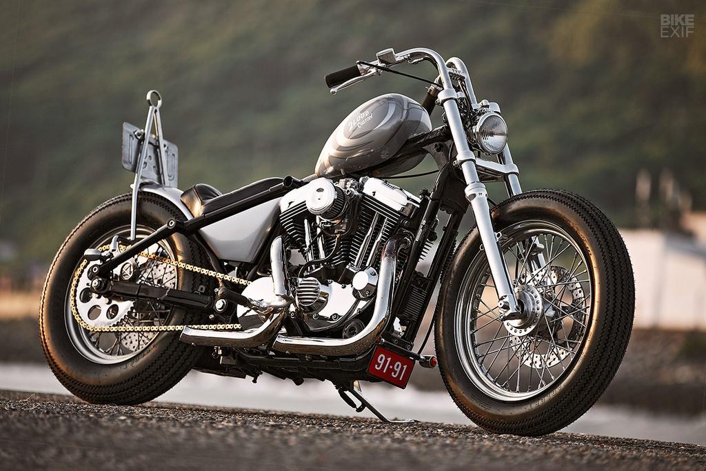 Harley Sportster do phong cach nu tinh dau tien o Dai Loan hinh anh 2