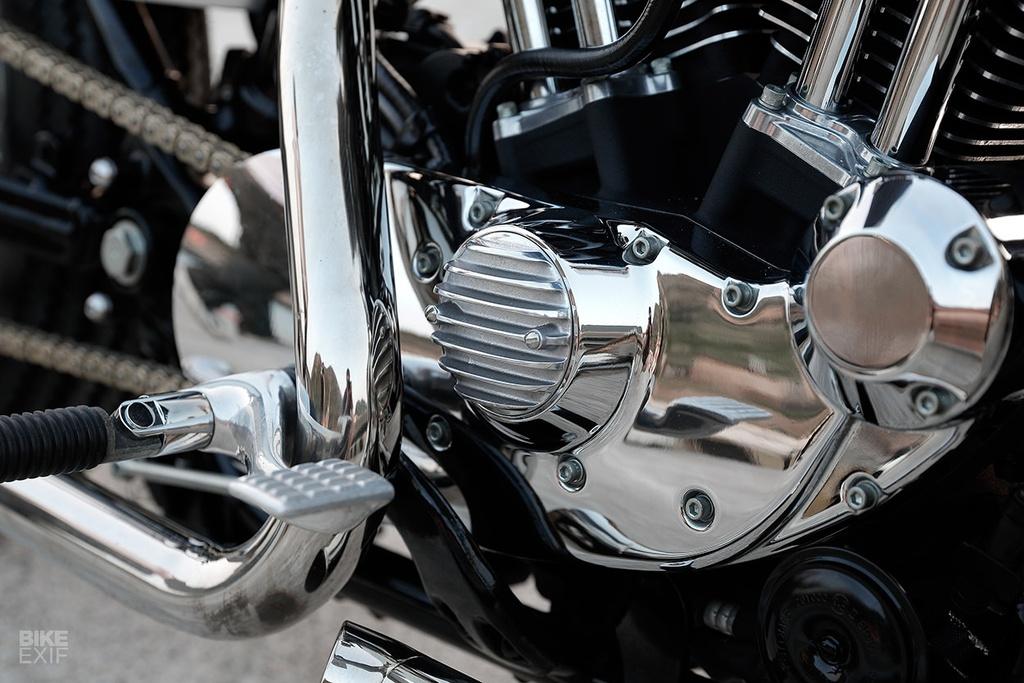 Harley Sportster do phong cach nu tinh dau tien o Dai Loan hinh anh 4