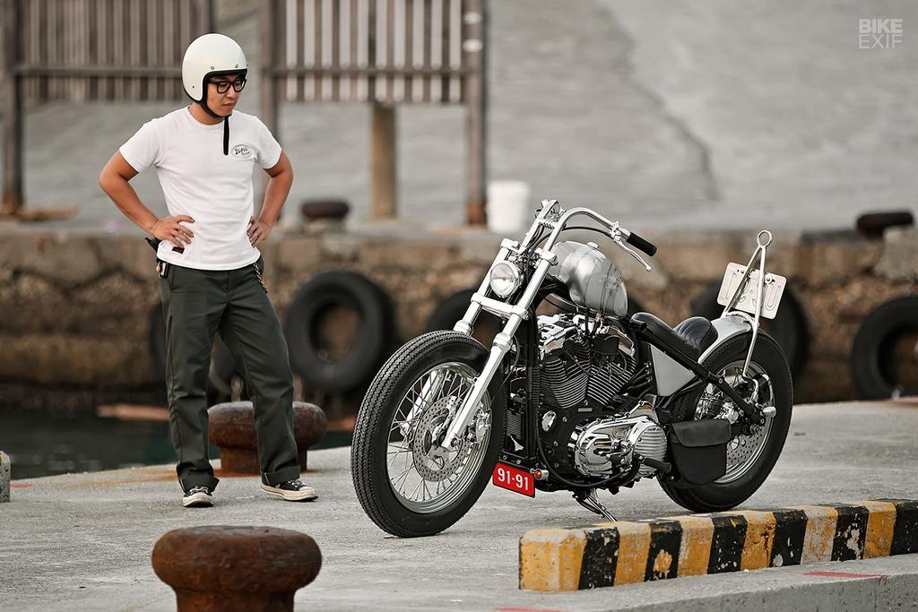 Harley Sportster do phong cach nu tinh dau tien o Dai Loan hinh anh 6