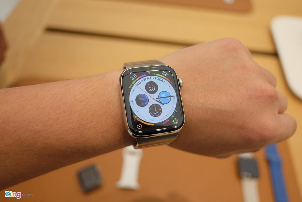 Chi tiet Apple Watch Series 4 - man hinh lon, vien cuc mong hinh anh 9