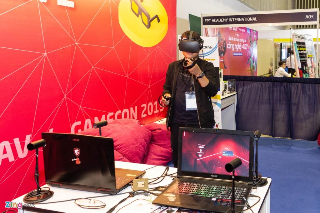 Trien lam game lon nhat VN - tap trung vao VR, thieu 'ong lon' hinh anh 3