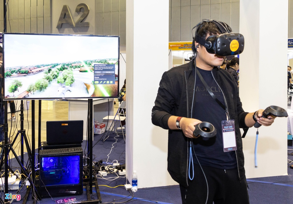 Trien lam game lon nhat VN - tap trung vao VR, thieu 'ong lon' hinh anh 4