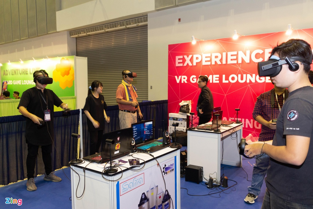 Trien lam game lon nhat VN - tap trung vao VR, thieu 'ong lon' hinh anh 5
