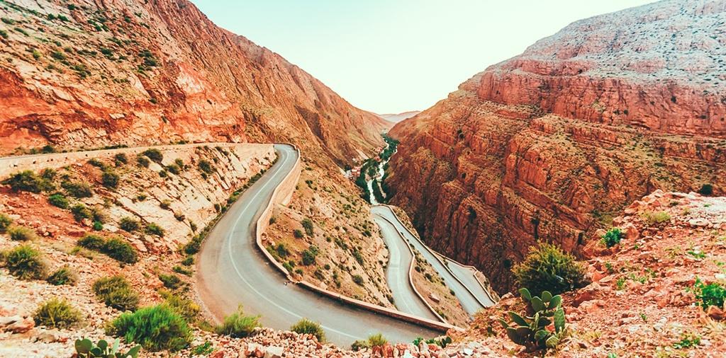 Morocco - toa lau dai cu ky va nhung o cua day sac mau hinh anh 1
