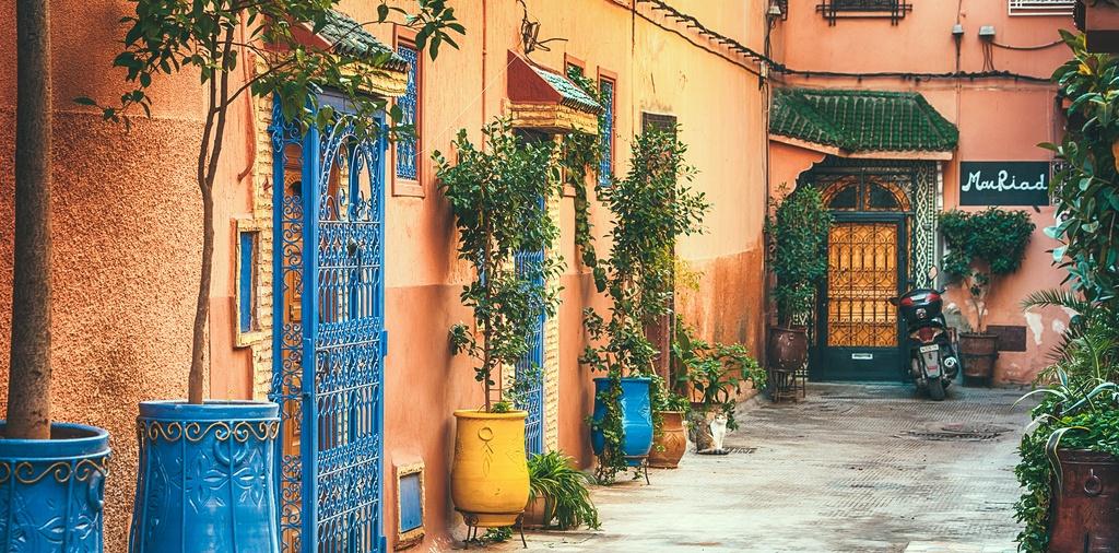 Morocco - toa lau dai cu ky va nhung o cua day sac mau hinh anh 13