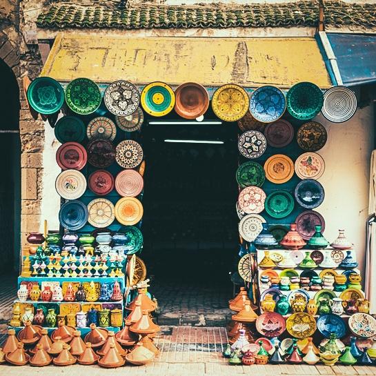 Morocco - toa lau dai cu ky va nhung o cua day sac mau hinh anh 14