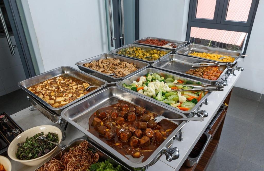 Dip Vu Lan, ghe 5 dia chi buffet chay duoi 100.000 dong hinh anh 9