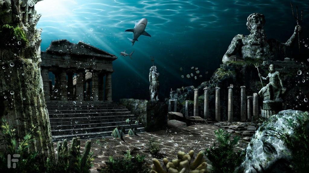 Huyen thoai ve thanh pho Atlantis mat tich duoi day bien hinh anh 5