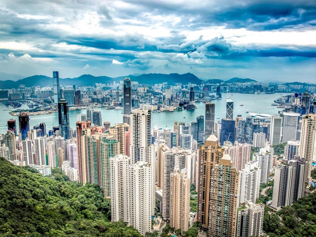 Noi o cua gioi sieu giau o Hong Kong anh 1