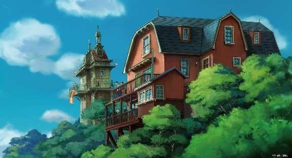 Cong vien hoat hinh Studio Ghibli he lo nhung phac thao dau tien hinh anh 12