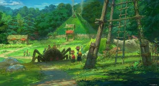 Cong vien hoat hinh Studio Ghibli he lo nhung phac thao dau tien hinh anh 13