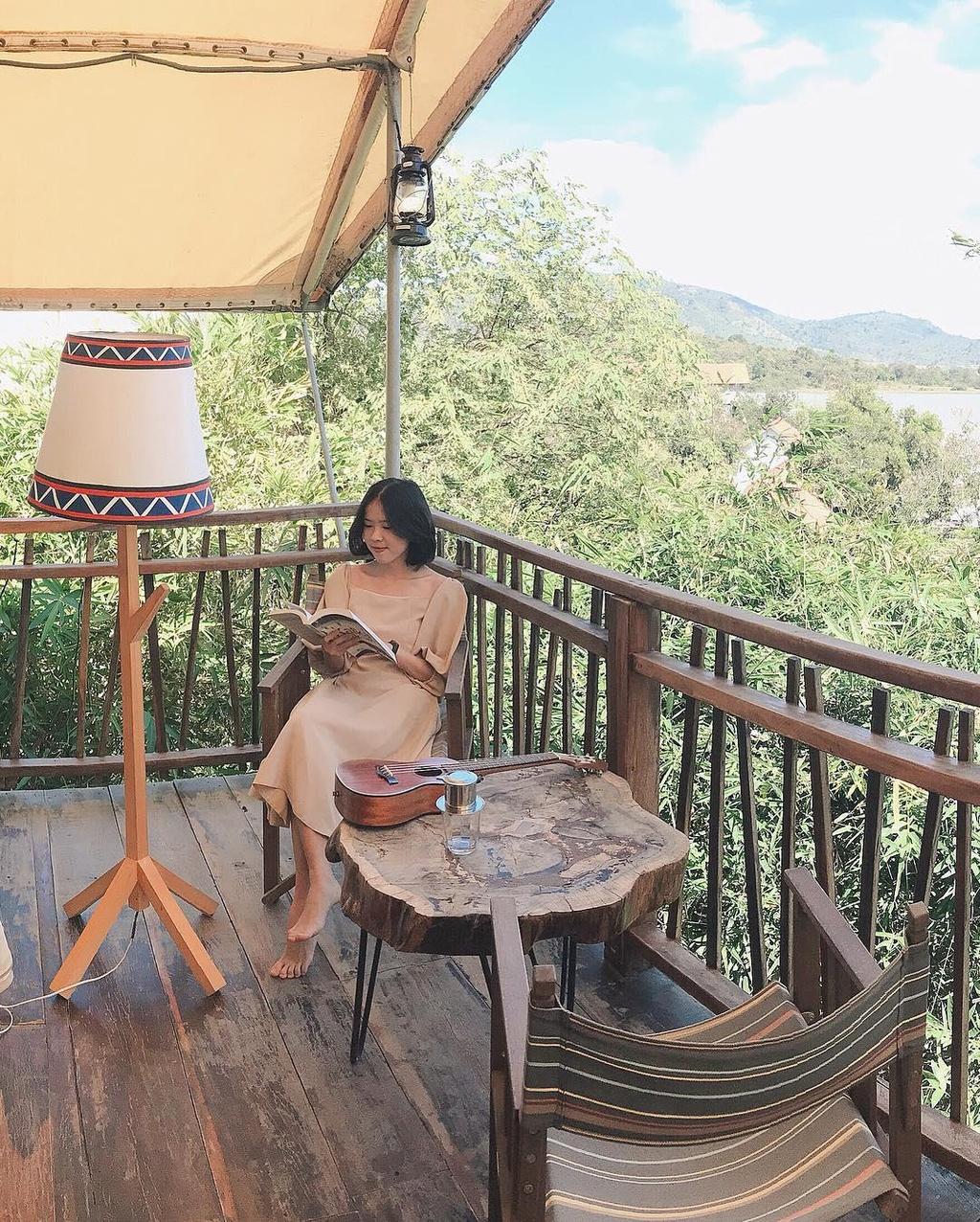 Cam trai kieu 'chanh sa' tai resort giua long rung nui Tay Nguyen hinh anh 1