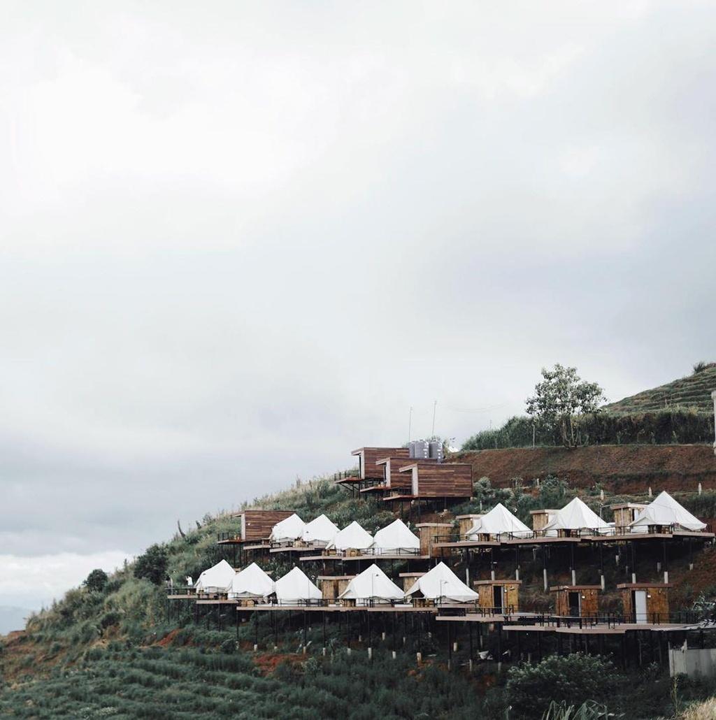 Homestay so huu view nhin tron nui doi bat ngat o Chiang Mai hinh anh 1