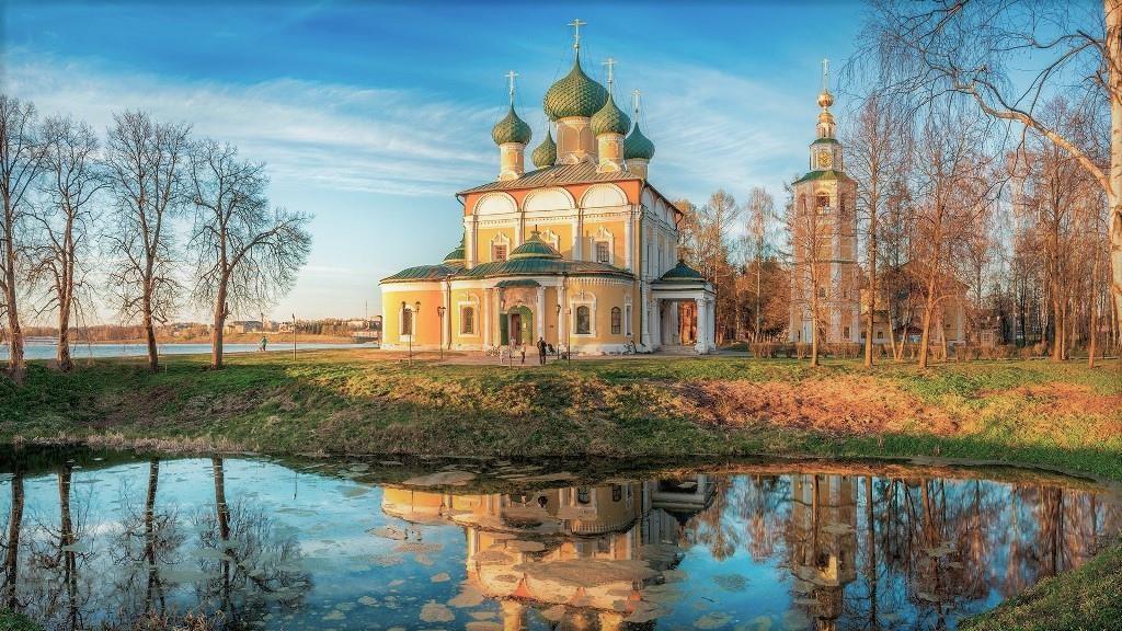 Canh lang que Nga dep nhu tranh ve ben dong Volga - Baltic hinh anh 9