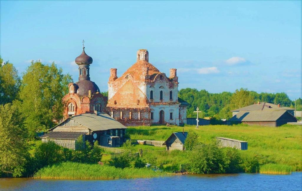 Cảnh làng quê Nga đẹp như tranh vẽ bên dòng Volga - Baltic