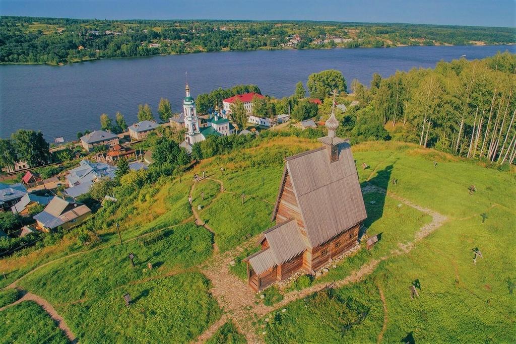 Cảnh làng quê Nga đẹp như tranh vẽ bên dòng Volga - Baltic - Ảnh 2
