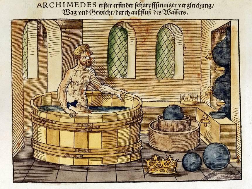 Vi sao Archimedes tran truong chay giua pho va het nhu dien? hinh anh 1