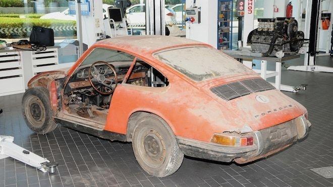 Hanh trinh hoi sinh xe Porsche 901 1964 huyen thoai da cu nat hinh anh 2
