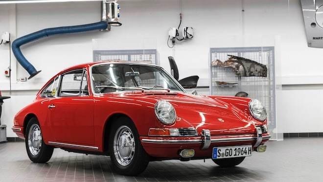 Hanh trinh hoi sinh xe Porsche 901 1964 huyen thoai da cu nat hinh anh 8