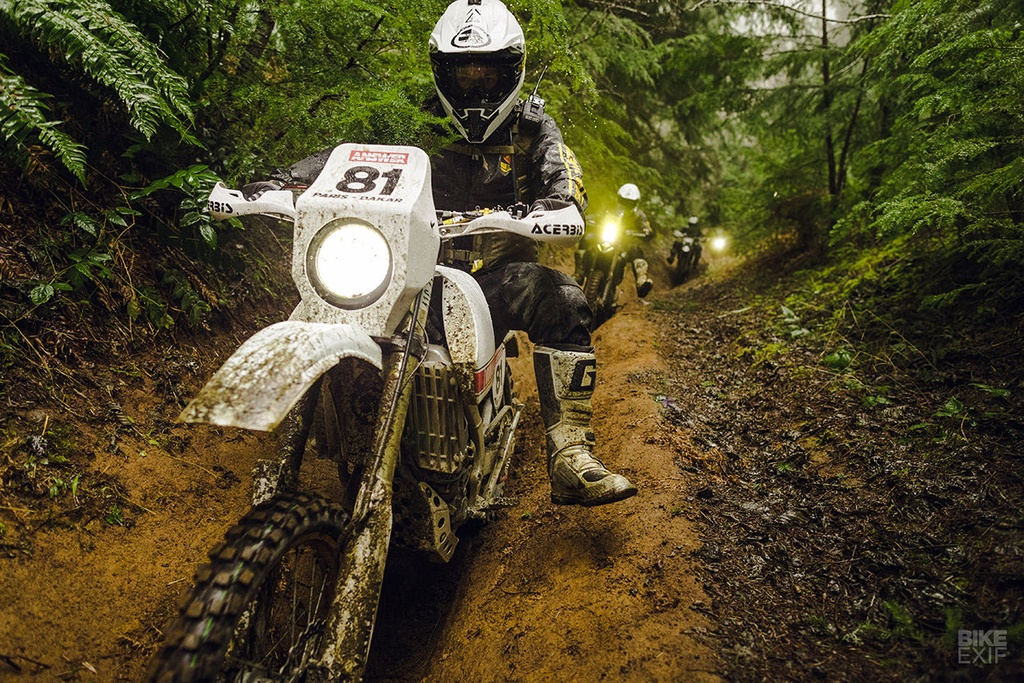 Cao cao Yamaha WR450F 2017 phien ban Dakar den tu My hinh anh 11