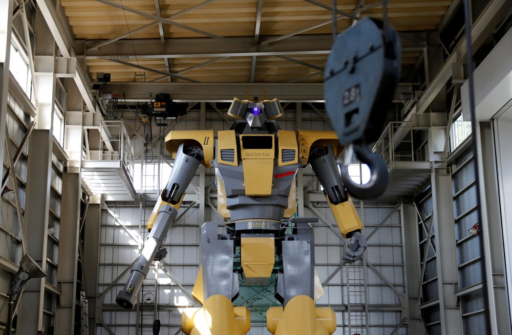 Ky su Nhat Ban che tao robot de thoa man giac mo Gundam hinh anh 1