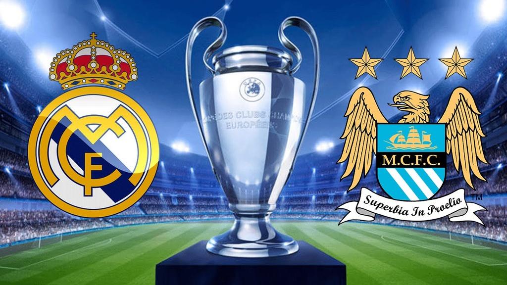 Kết quả hình ảnh cho Real Madrid vs Manchester City