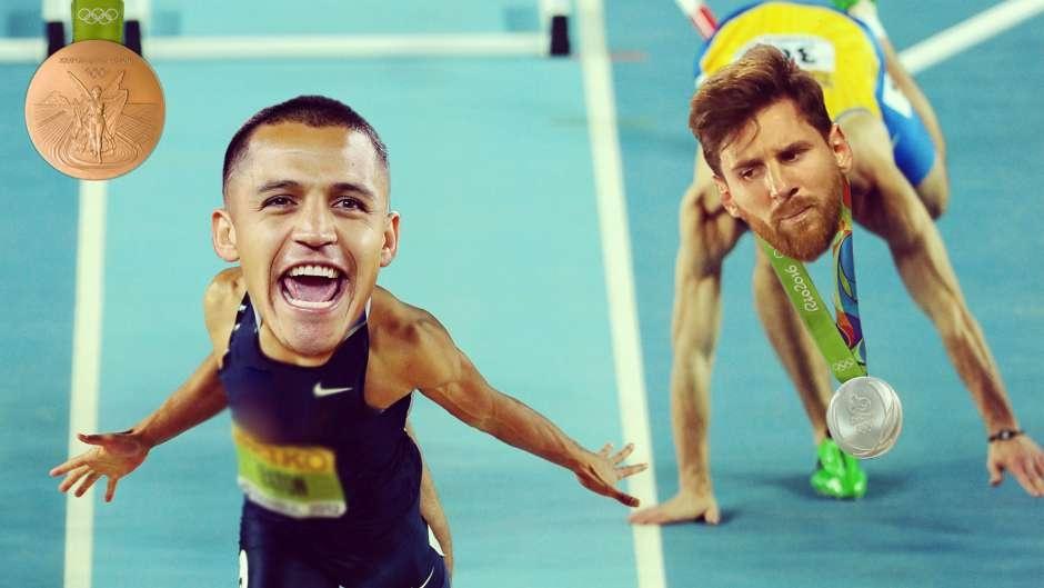 Anh vui cac sao bong da thi Olympic hinh anh 1