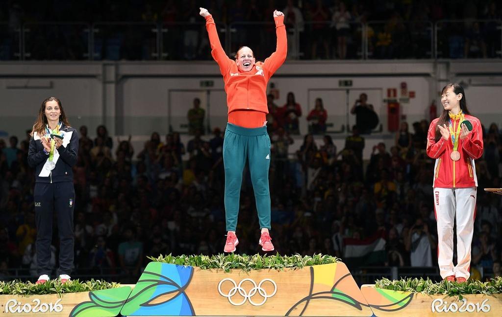 man an mung huy chuong vang an tuong tai Olympic anh 6