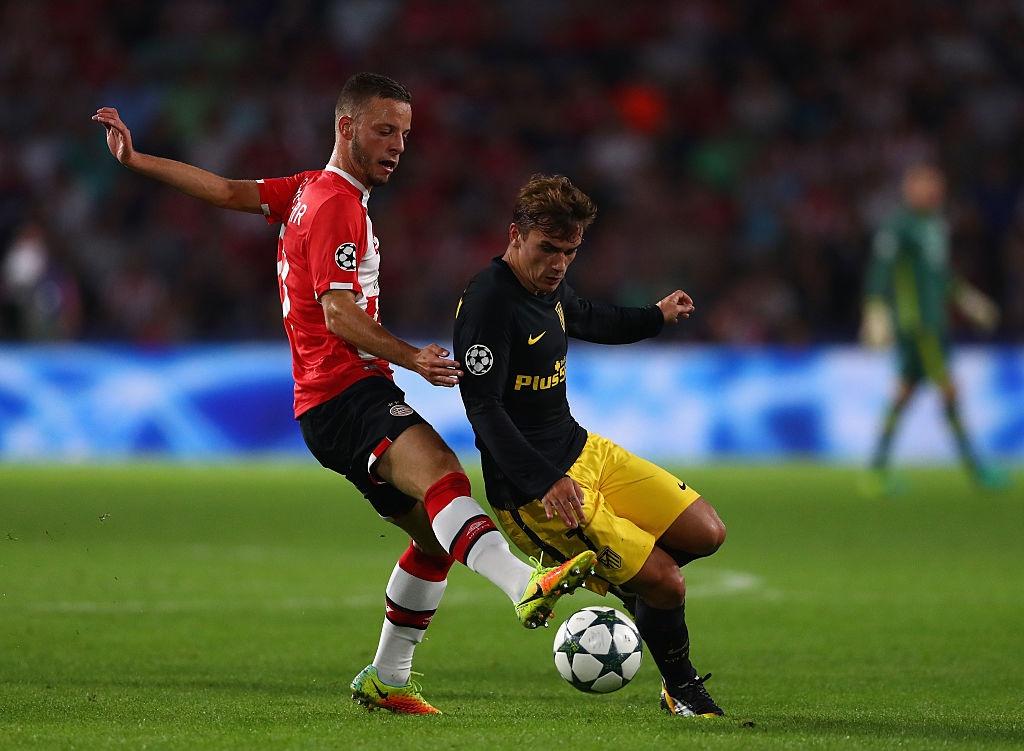 Atletico nhoc nhan vuot qua PSV trong tran cau do mau hinh anh 1