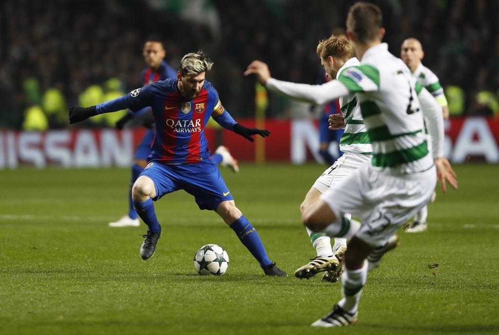 Messi lap cu dup dua Barca vao vong knock-out hinh anh 2