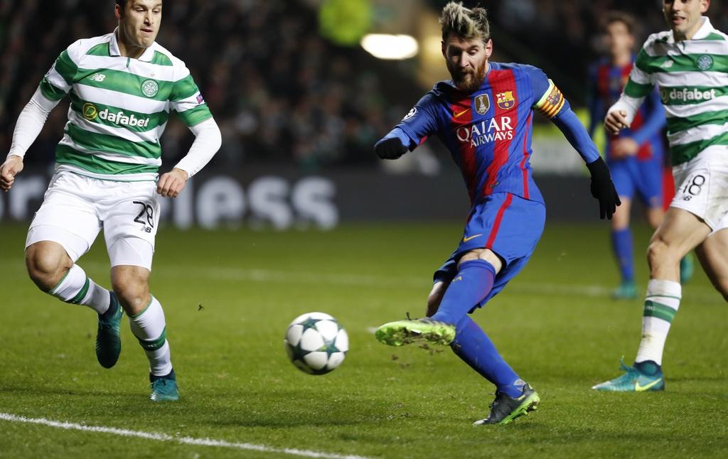 Messi lap cu dup dua Barca vao vong knock-out hinh anh 3