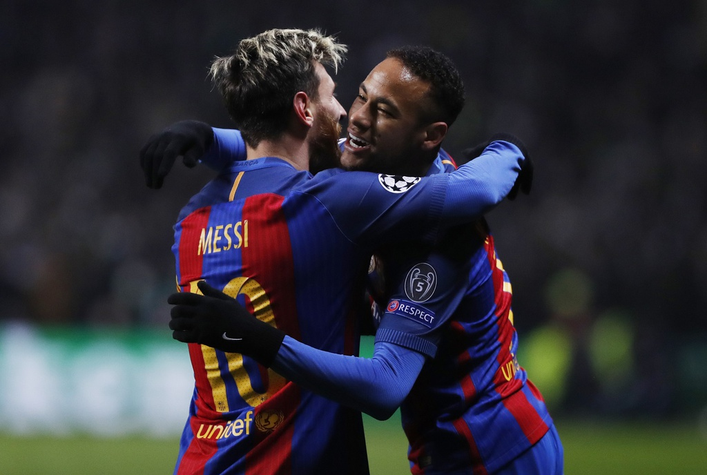 Messi lap cu dup dua Barca vao vong knock-out hinh anh 4