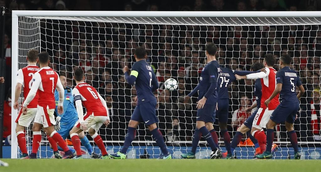 Arsenal hoa PSG 2-2 nho an va anh 10