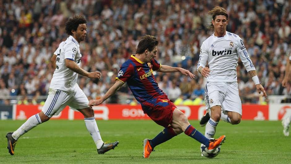 Messi hung than cua Real Madrid anh 8