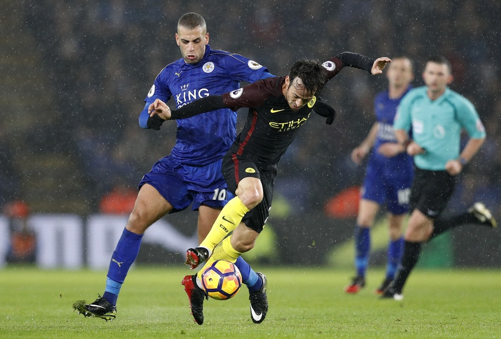 Vardy lap hat-trick, Leicester de bep Man City 4-2 hinh anh 9