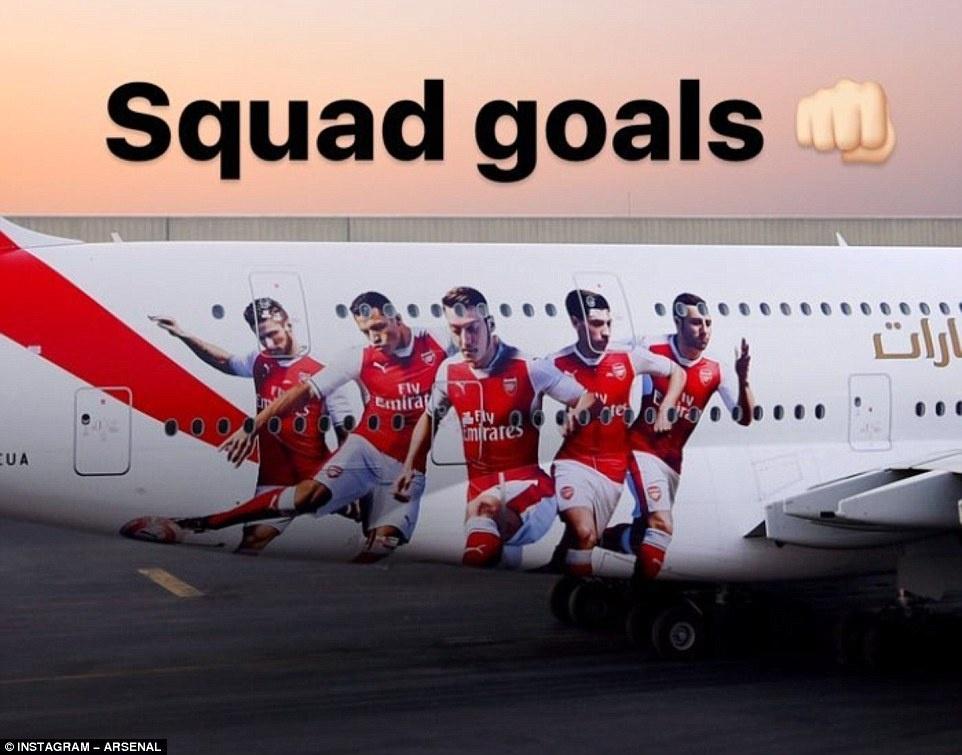 Khong mua cau thu, Arsenal danh tien tau may bay moi hinh anh 3