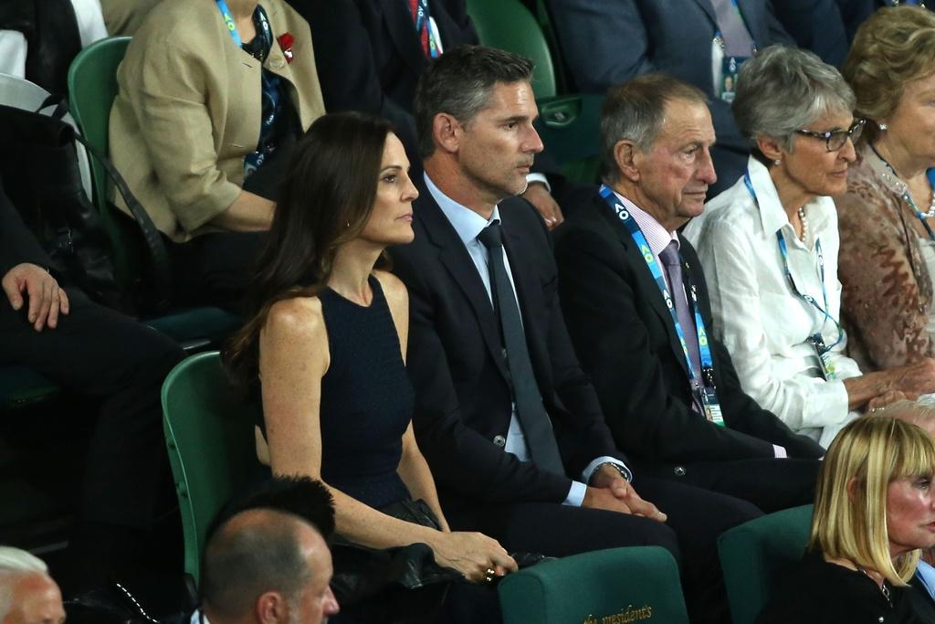 Vo, ban gai chay het minh co vu Federer, Nadal hinh anh 4