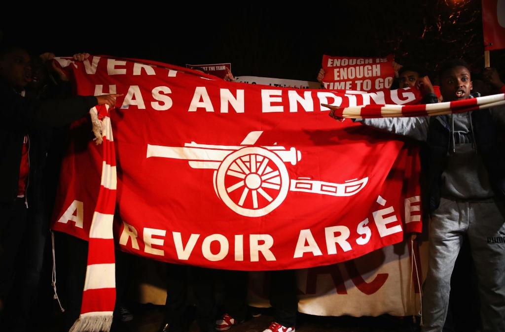 CDV Arsenal bieu tinh doi Wenger ra di hinh anh 1